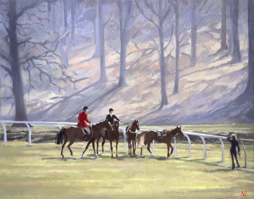 The Horse Catchers, Welbeck Abbey